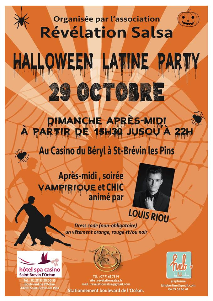 Halloween Party dimanche 29/10/2017