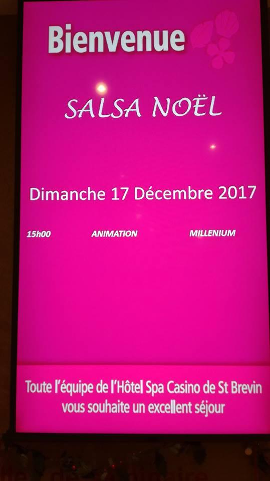 Noël Latine Party dimanche 17 décembre 2017 au Casino de Saint-Brévin